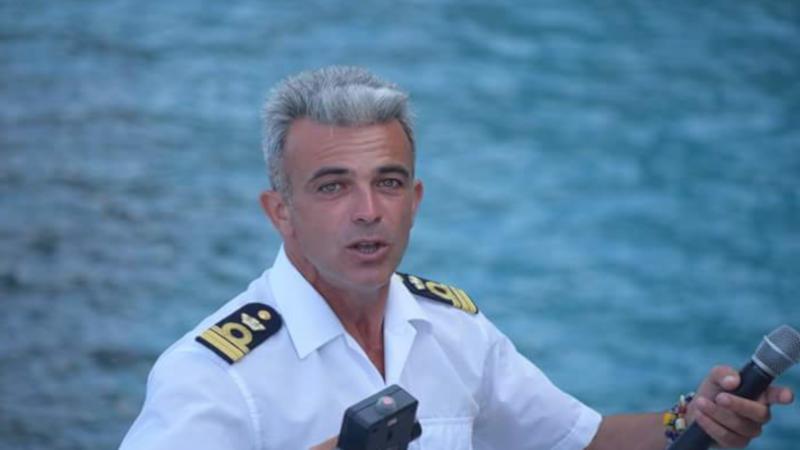 The photo of Captain Danilo
