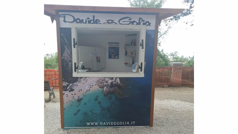the Davide and Golia ticket office at Sos Alinos