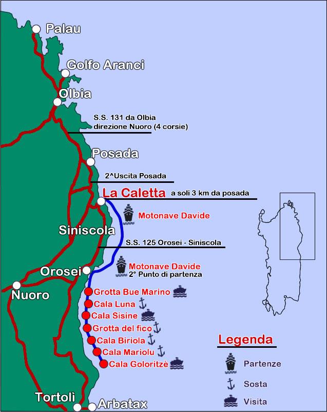 Cartina dove siamo